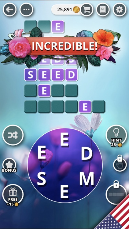 Bouquet of Words - Word Game screenshot-6