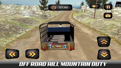 Hill Chingchi Rickshaw 3D screenshot 2
