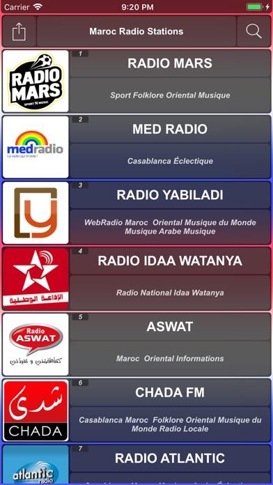 Maroc Radios الإذاعات المغربية-0