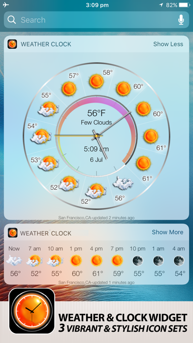 Weather Watch Pro review screenshots