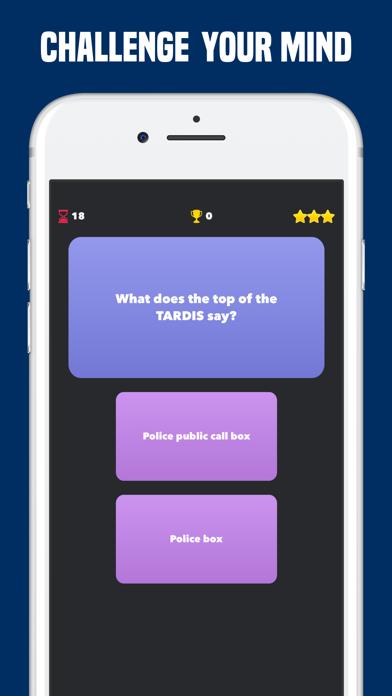 Quiz for Doctor Who Fan Trivia screenshot one