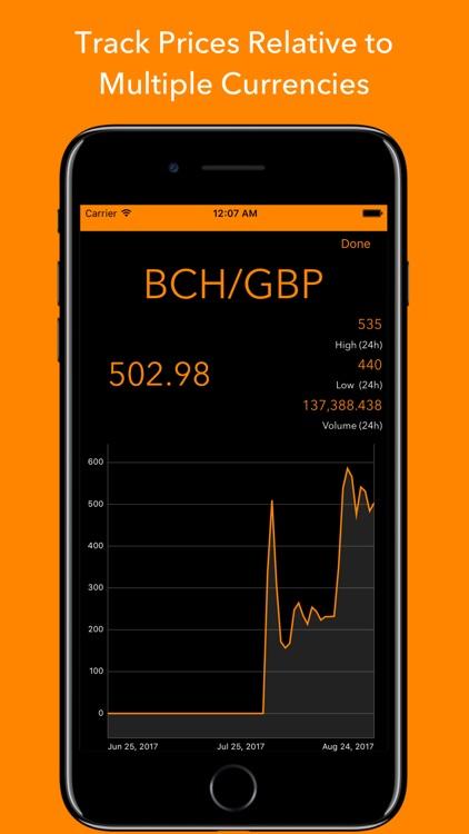 Crypto Monitor: Bitcoin Ticker screenshot-3