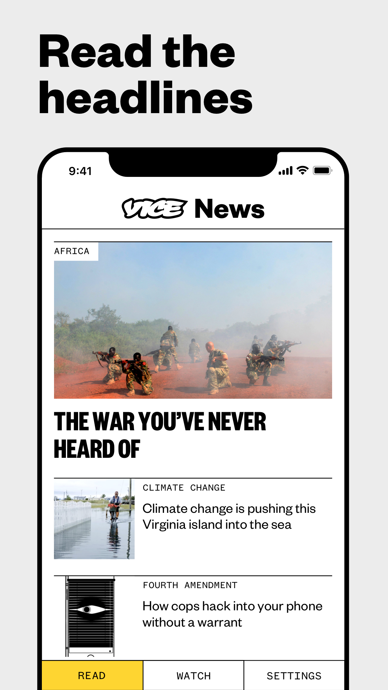 VICE News Screenshot