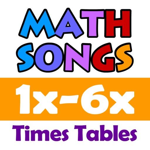 Math Songs: Times Tables 1x - 6x HD
