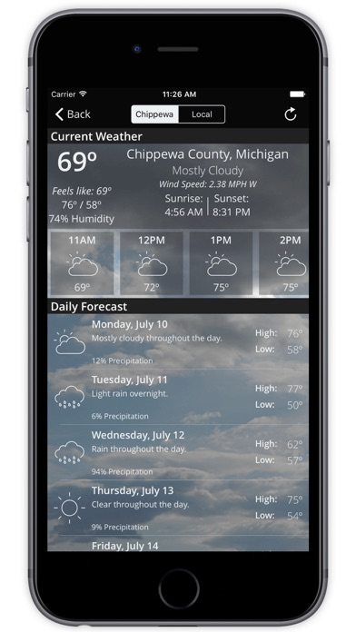 Chippewa County Sheriff | App Price Drops