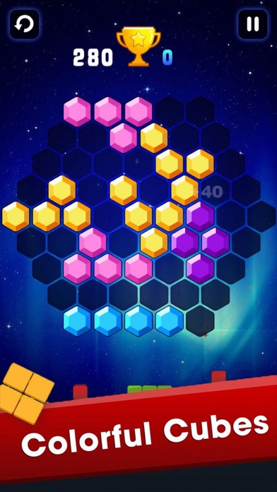 Color Brick Move Up Plus screenshot two