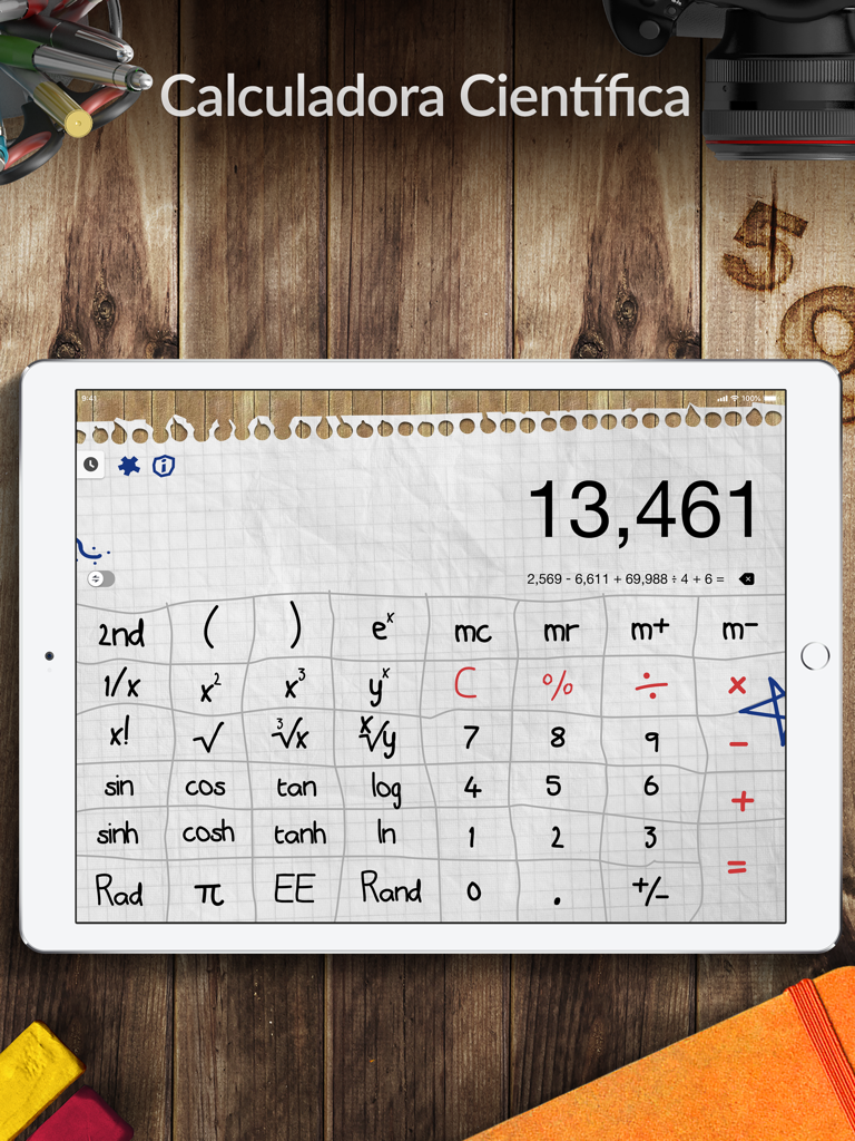 Calculadora Pro+ para iPad Screenshot
