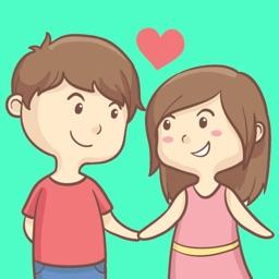 Girlfriend Sticker
