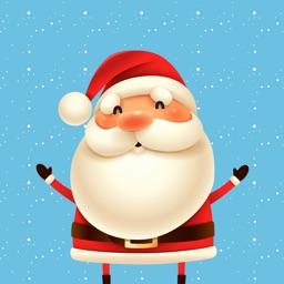Santa Funny Stickers