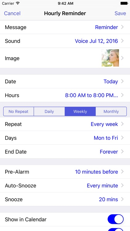 Reminders with Voice Reminder screenshot-1