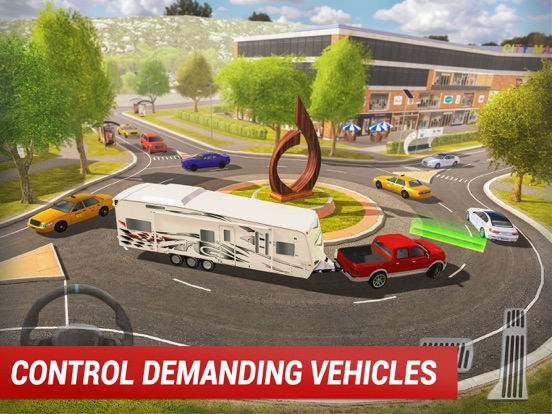 Roundabout 2: City Driving Sim для iPad