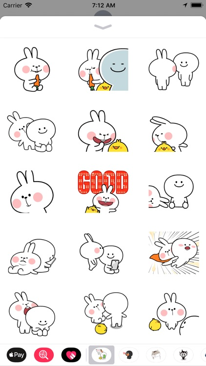 Bunny Expressions Animated