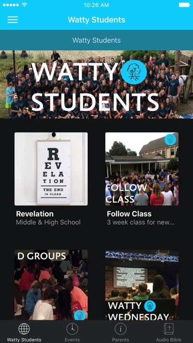 Watty Students screenshot 1