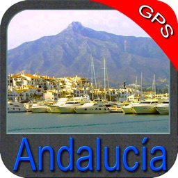 Marine : Andalusia (Spain) - GPS Map Navigator