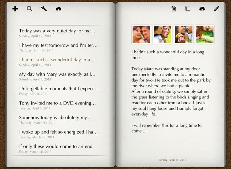 Diary for iPad