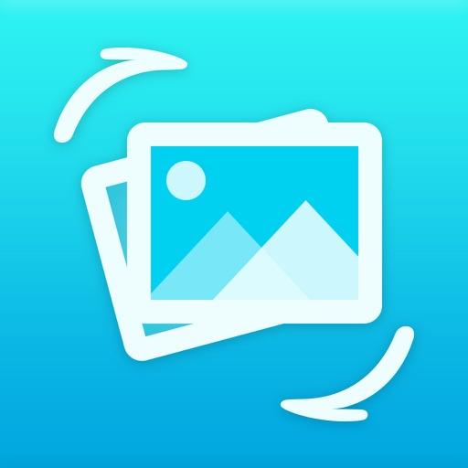 Photo Transfer - backup image iOS App