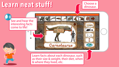 Let's Learn About Dinosaurs! screenshot 2