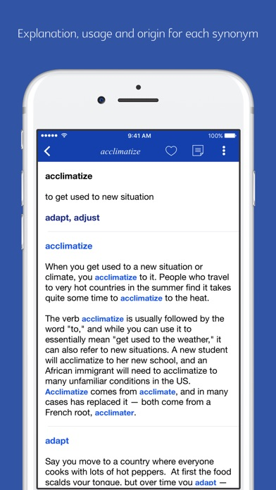 English Synonym and Antonym App Report on Mobile Action - App Store
