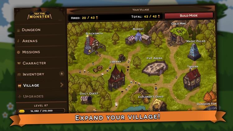 Tap the Monster - RPG clicker