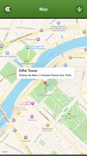 Paris Things To Do On The App Store - Paris things to do map