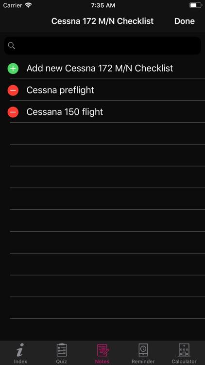 Cessna 172 M/N Checklist screenshot-8