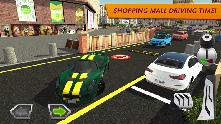 Shopping Mall Car Driving screenshot-0