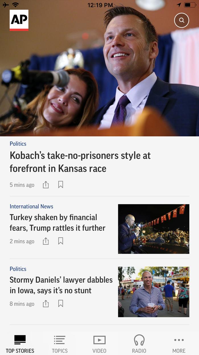 AP News Screenshot