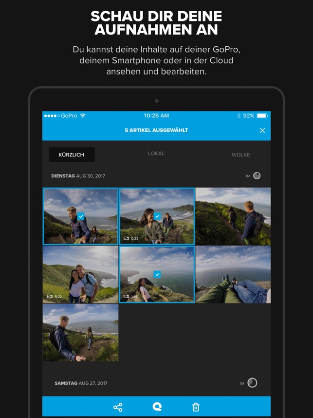 GoPro (formerly Capture) im App Store