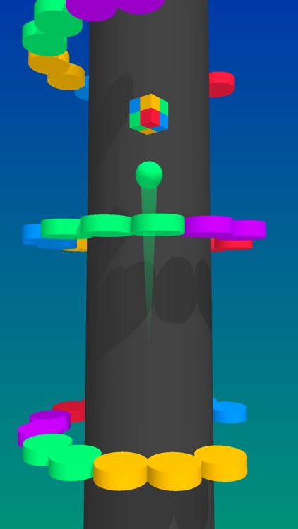 Color Balls Climb- Jump Up screenshot-1