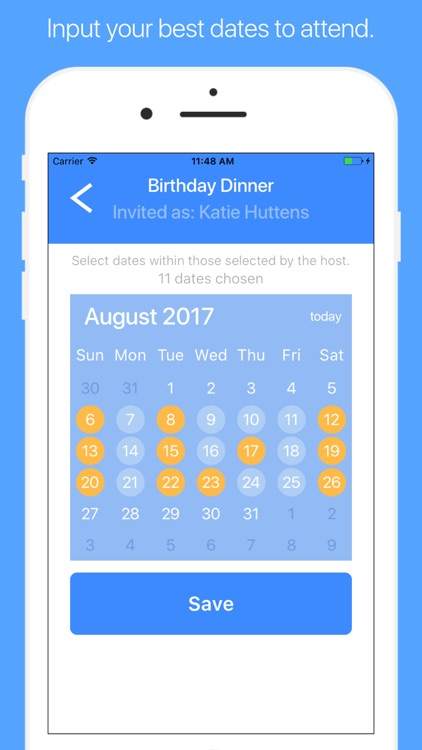 AirTime – Fast Event Scheduling for Groups screenshot-4