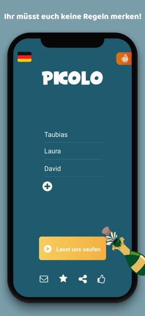 Picolo Trinkspiel Screenshot