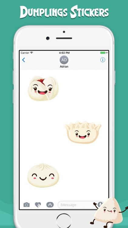Dumplings Stickers Soft screenshot-3