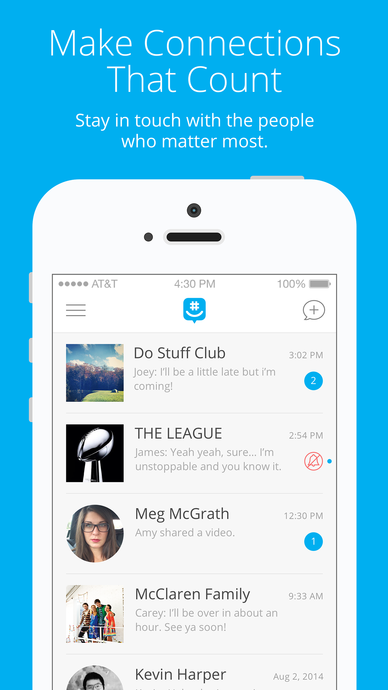 GroupMe Screenshot
