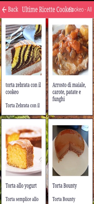 App Store Ricette Cuco