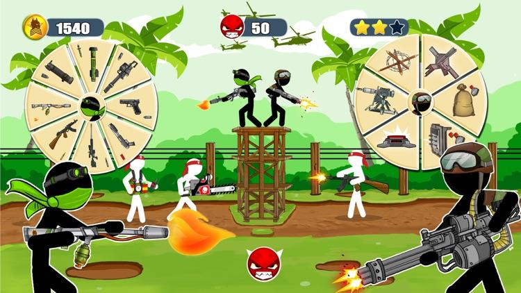 Stickman Army : The Resistance screenshot-3