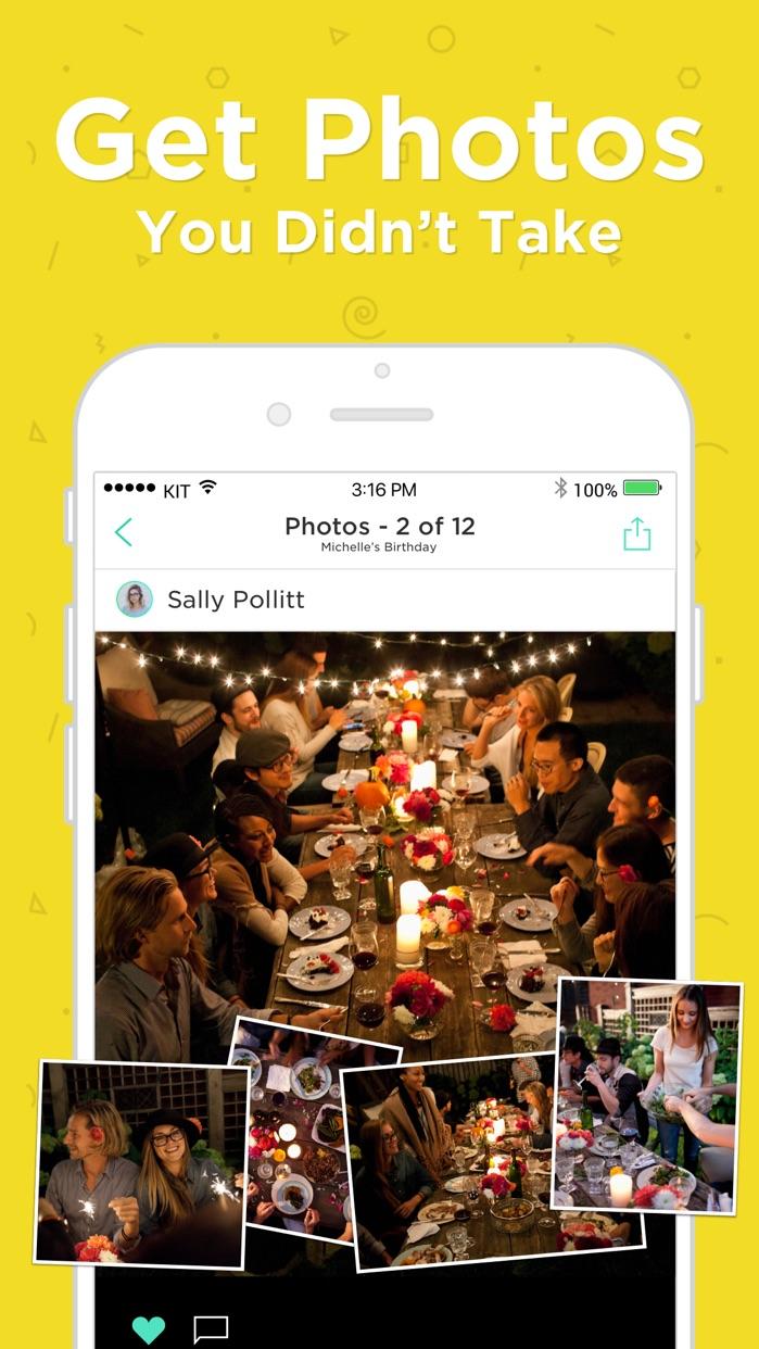 Hobnob Invitations & Text RSVP Screenshot
