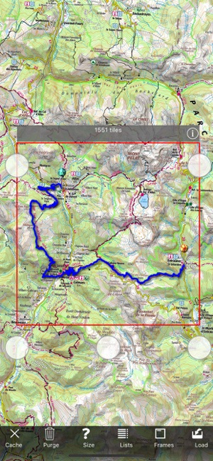 A4 Map Of France.Iphigenie Maps Of France On The App Store