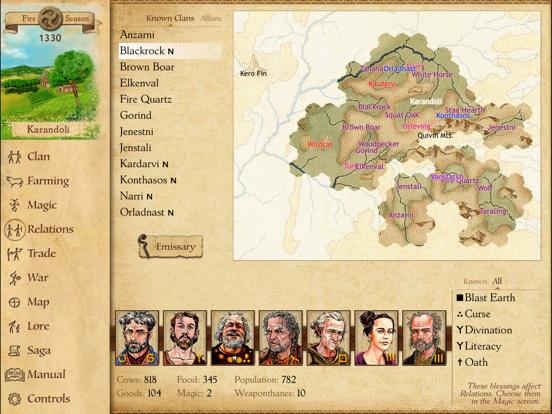 Скачать игру King of Dragon Pass