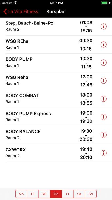 La Vita Fitness screenshot three