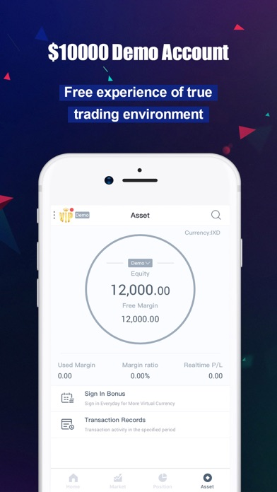 GWForex - Online Forex Trading Screenshot on iOS