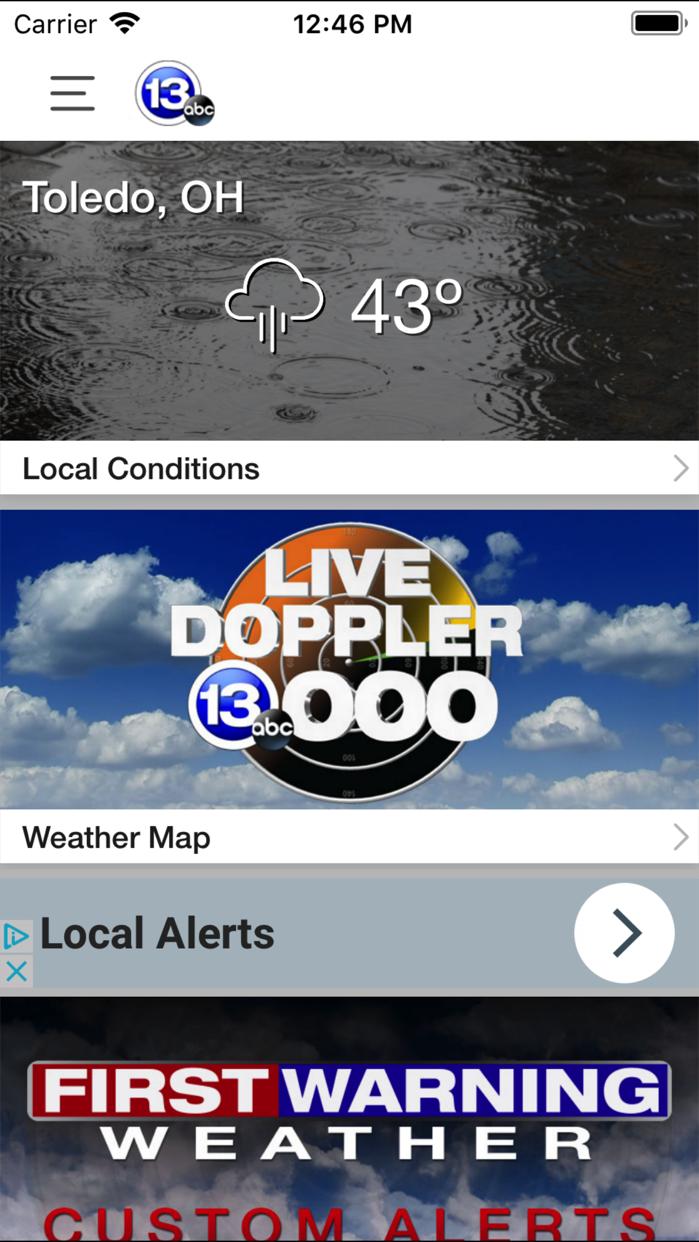 13abc Doppler 13000 HD Screenshot