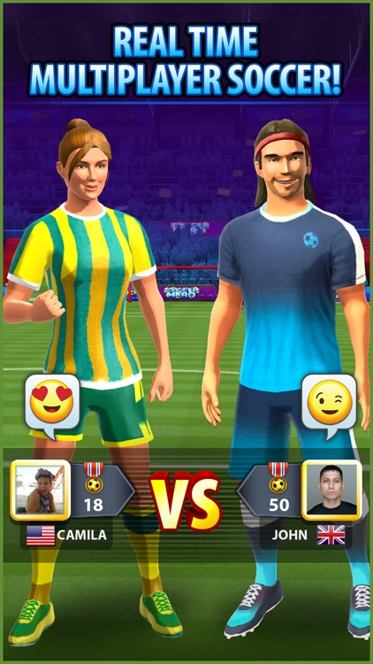 Soccer! Hero screenshot-0