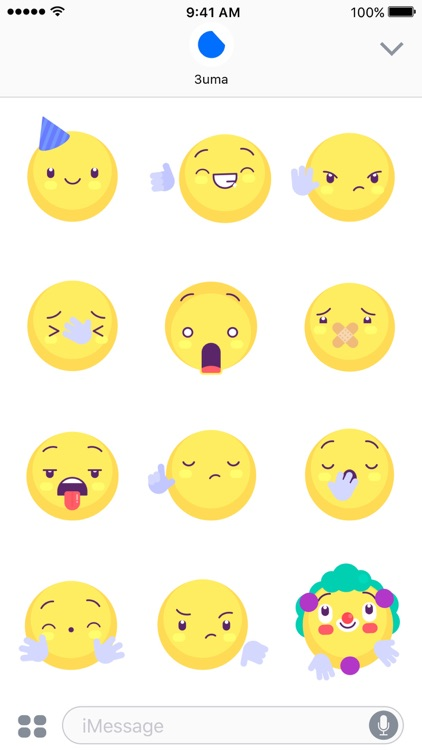 Yellow Emojis - Animated Sticker Keyboard screenshot-4