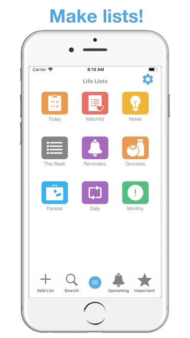 Télécharger Life Lists: Task Manager pour iPhone sur l'App ...