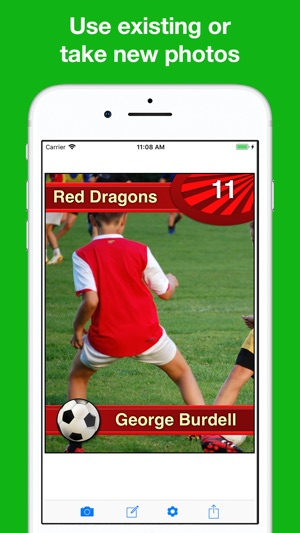 80a4fe6082c Sports Card Maker Pro on the App Store