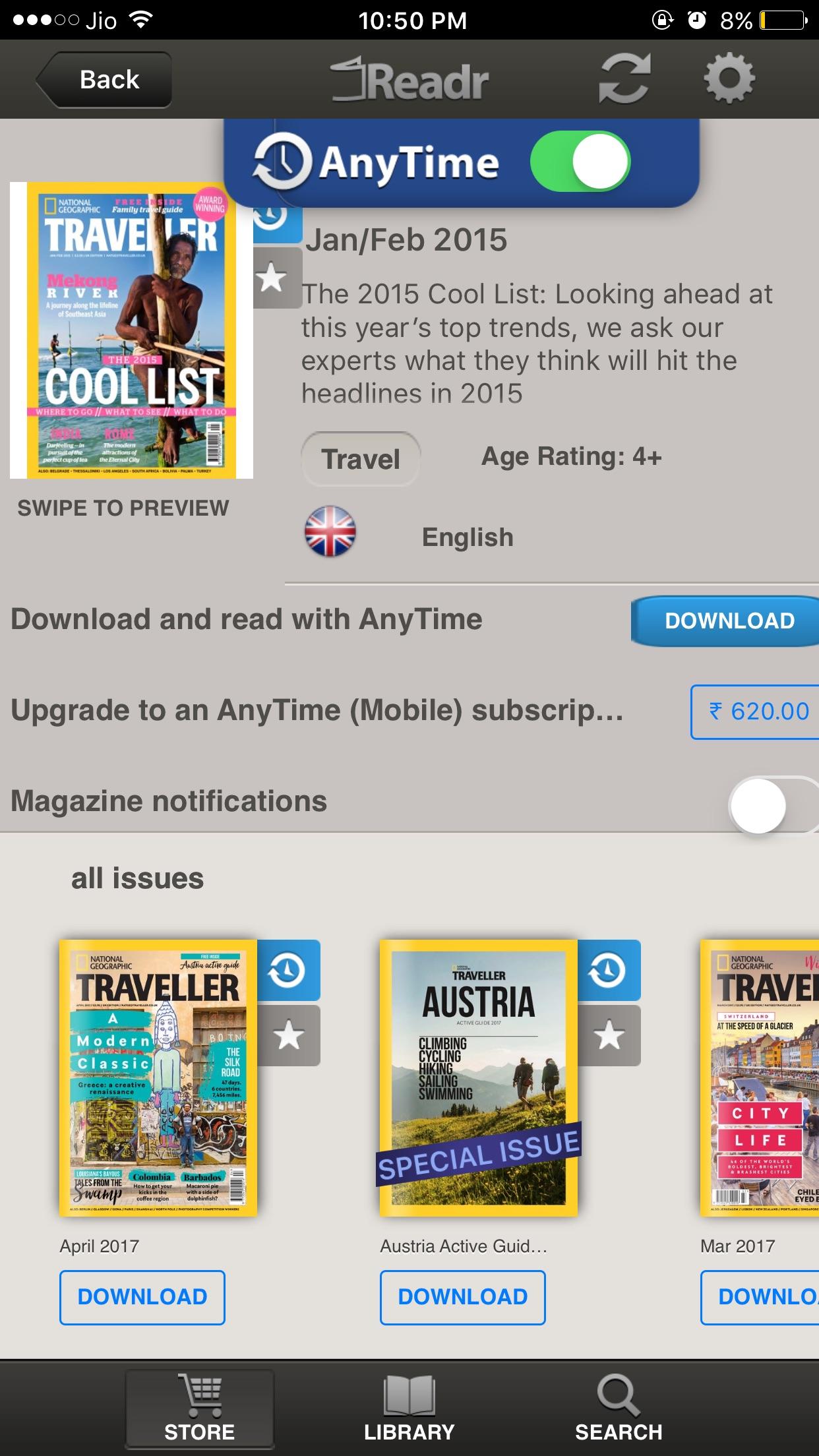 Readr - 10K Magazine Newsstand Screenshot