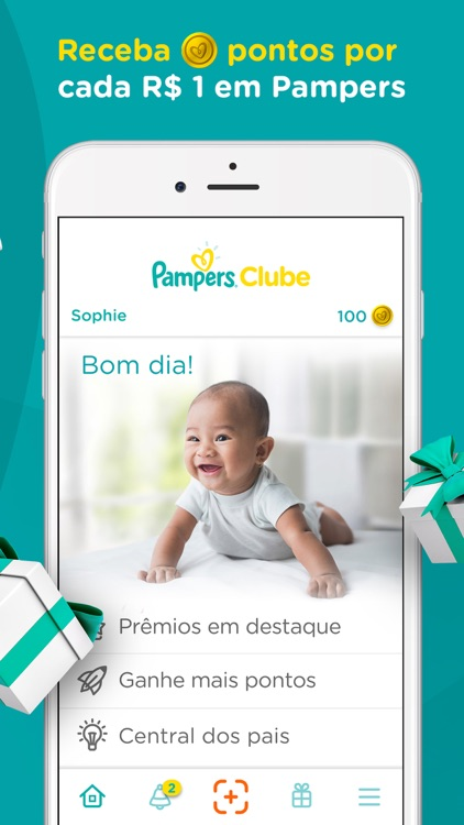 Pampers Clube: Recompensas