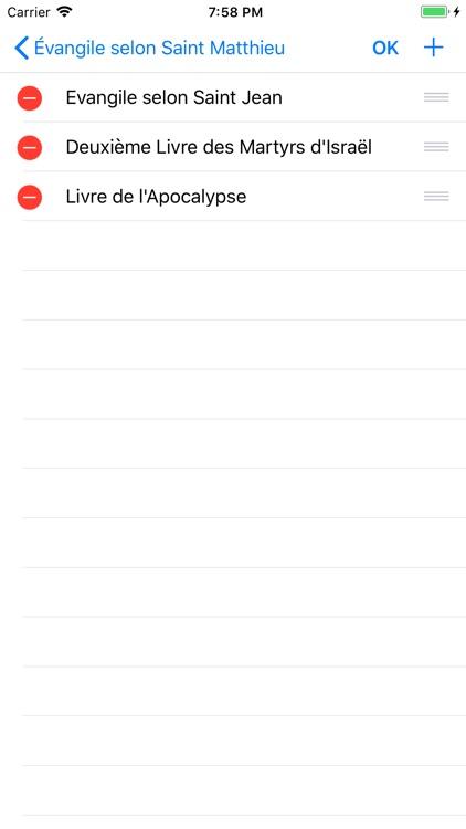 La Sainte Bible screenshot-5