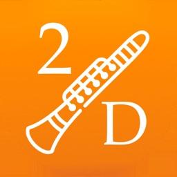 2D Clarinet Fingering Chart