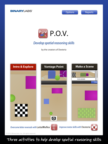 P.O.V.  Spatial Reasoning Game - náhled